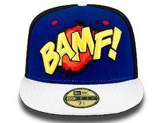 MARVEL x NEW ERA 「X-Men Action Sounds Nightcrawler」59Fifty Fitted Baseball Cap