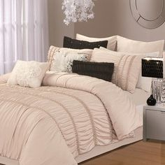 Chic Home Romantica 9 Piece Comforter Set & Reviews | Wayfair