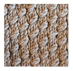 'Wrapped Increase' Stitch. It mimics a wrapped stitch, but doesn't. It almost looks like a cable, but it isn't. Interesting, I like it.
