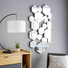 Miroir graphique 118x70cm YUKO