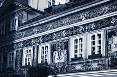 Prague Sgraffito - Joan Carroll. To view or purchase prints, canvases, cards or phone cases visit joan-carroll.artistwebsites.com THANKS!