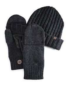 Ugg Convertible Gloves And Hat Gift Set 100 Exclusive Mens Gloves Uggs Gloves