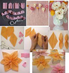 Dulcinéias e Madalenas: Arte com papel II: decoração de festas com papel