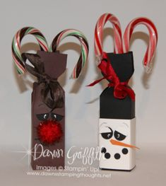 2014 Rudolph Candy Cane Box Envelope Punch Board with Dawn Christmas Craft Show, Christmas Paper Crafts, Stampin Up Christmas, Christmas Ideas, Envelope Punch Board Projects, Giveaway, Treat Holder, Treat Box, Candy Crafts