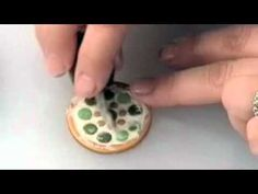 Free Polymer Clay Projects: Mosaic Pendant Pt. 3