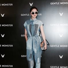 GENTLE MONSTER Opening ceremony with Korea actress Hyo Jin, Kong (공효진)