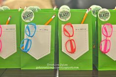Mad Science Party Supplies | Mad Scientist Party! The Favors | Birthday party ideas