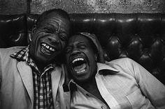 James Baldwin and his brother David - St. Germain des Pres, Paris, 1981