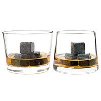 So you can be extra fancy with your whiskey!  Whiskey stones!  Simply chill the stones. Add three to your next drink, let stand for five minutes and enjoy.  $19.50  Found at http://www.uncommongoods.com/product/whiskey-stones-gift-set