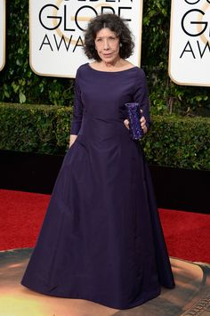 Lily Tomlin at The Golden Globe 2016