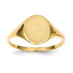 http://www.amazon.com/14k-Yellow-Gold-Signet-Ring/dp/B0041K15CW/ref=sr_1_3?ie=UTF8&qid=1410753805&sr=8-3&keywords=signet+ring  $140