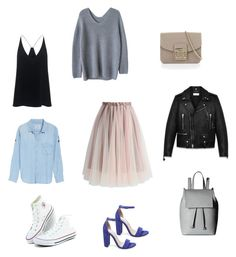 """""""#5"""" by zaharova-n on Polyvore featuring мода, TIBI, Yves Saint Laurent, French Connection, Steve Madden, Chicwish, Furla и Rails"""