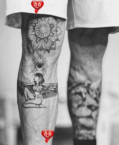 Leg Tattoos Designs - Badass Leg Tattoos for Men and Women  <br> Leg tattoos is a great choice and idea for both men and women. Discover a timeless selection of the top 100 best badass tattoos for men and women. Foot Tattoos, Finger Tattoos, Sleeve Tattoos, Leg Tattoos Women, Tattoos For Women Small, Mens Leg Tattoo, Tattoo On Leg, Men Back Tattoos, Tattoo For Man
