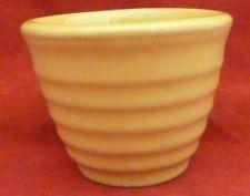 VINTAGE YELLOW RINGWARE BAUER CUSTARD DISH CUP