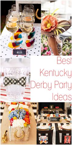 A Style Portrayed: Plan the Perfect Kentucky Derby Party