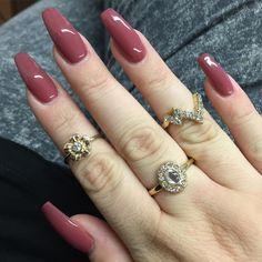 """Oh hi! #new #nails #squaletto #coffin #love#happy #girl #longnails #fun #nailinspo #inspo"""