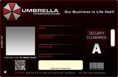 Umbrella Corp. ID by ~bryzunovrokks on deviantART