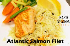 Atlantic Salmon, Grains, Rice, Food, Salmon, Meals, Laughter, Jim Rice, Korn