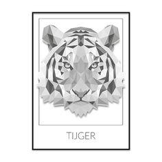 Triangle Tiger Design on Behance Tiger Design, Art Design, Shape Design, Art Tigre, Tiger Vector, Polygon Art, Tiger Art, Tiger Head, Tiger Tiger