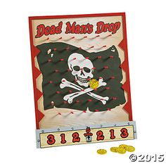 Dead Man's Drop Disk Game - Oriental Trading