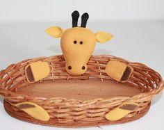 Cestinha - Girafa Basket Giraffe - party favor