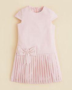 Tartine et Chocolat Girls' Pleated Dress - Sizes 4-6