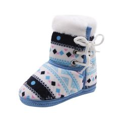 Baby Winter Print Boots