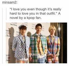 Some bigbang and exo outfits...