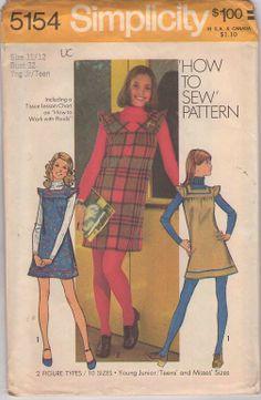 Vintage Sewing Pattern Giveaway: Simplicity 5154