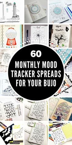 Self care is important but looking after our mental health and emotions often comes at the bottom of our task lists. So how about making a change for We've got creative mood tracker Bullet Journal ideas to inspire you! Bullet Journal Binder, Keeping A Bullet Journal, Bullet Journal Headers, Organization Bullet Journal, Bullet Journal Tracker, Bullet Journal Notebook, Bullet Journal Ideas Pages, Bullet Journal Layout, Planner Organization