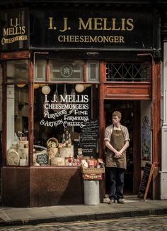 I.J. Mellis Cheesemonger ~ Edinburgh, Scotland