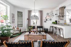 A house in Göteborg, full of creativity