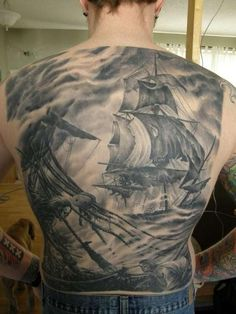 cool tatooes | rough seas tattoo 40 Cool Tattoos For Guys You Would Love To Have