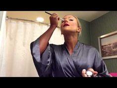 Stage Makeup with IFBB Bikini Pro, Amy Updike - YouTube