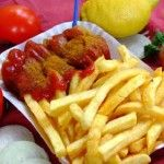 Currywurst recipe - Love German-style curry sauces - picture doesn't do it justice