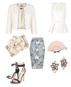 """Interview"" by najia17-2007 on Polyvore featuring River Island, Lipsy, Jacques Vert, Gianvito Rossi, LE VIAN, Chanel and RED Valentino"