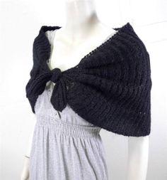 WOMEN-DELIAS-mohair-poncho-wrap-size-ONE-NEW