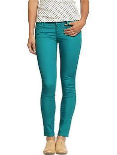 Women's The Rockstar Pop-Color Jeans (Tsunami) | Old Navy