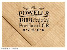The Address Stamp No. 23 by Royal Steamline
