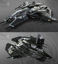 Science Fiction — glacier1701:  Star Citizen: Anvil F8 Lightning  ...