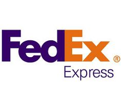 FEDEX LABEL Priority Shipping Label Express Mail Label