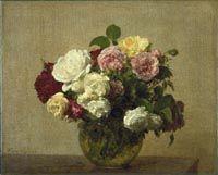 Fantin-Latour, Henri - Roses - Musée des Beaux-arts du Canada, Ottawa
