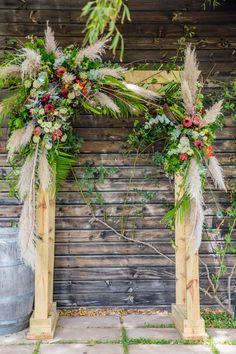 Bridal Flowers, Event Venues, Flower Decorations, Ladder Decor, Flower Arrangements, Stationery, Romance, Colours, Rustic