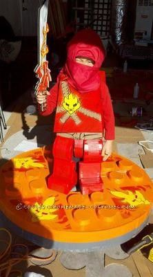 Coolest Ninjago Costume... This website is the Pinterest of costumes