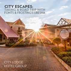 Uresha from Fonts & Frosting recently joined the City Lodge City Escape bus and took us up on a staycation at Courtyard Hotel Sandton! Courtyard Hotel, Staycation, Frosting, Road Trip, Fonts, Country Roads, Explore, City, Travel
