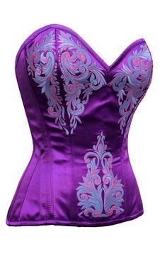 The Violet Vixen - Lady Ice Violet Duchess Purple-Blue Corset, $97.31 (http://thevioletvixen.com/corsets/lady-ice-violet-duchess/)