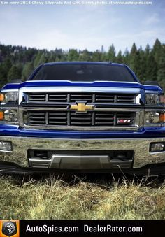 SPIED: First Official Photos Of GM's 2014 Silverado And Sierra Trucks- Will They Strike Fear With Ford And RAM Faithful?