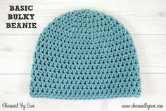 The Dusty Blue Bulky Crochet Beanie is your new go-to winter hat, and it& available in any size you could want, from newborn all the way up through large adult. This easy crochet beanie is worked up in the half-double crochet stitch. Crochet Beanie Pattern, Crochet Shawl, Crochet Yarn, Crochet Stitches, Crochet Patterns, Crochet Flowers, Hat Patterns, Headband Crochet, Newborn Crochet