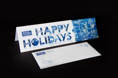 Burns & McDonnell Holiday Card 2011 by Brady Ritter, via Behance