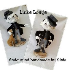 """Linke Loetje"" design and pattern by Ginia Mees"